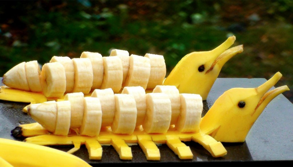 banany zdrowe