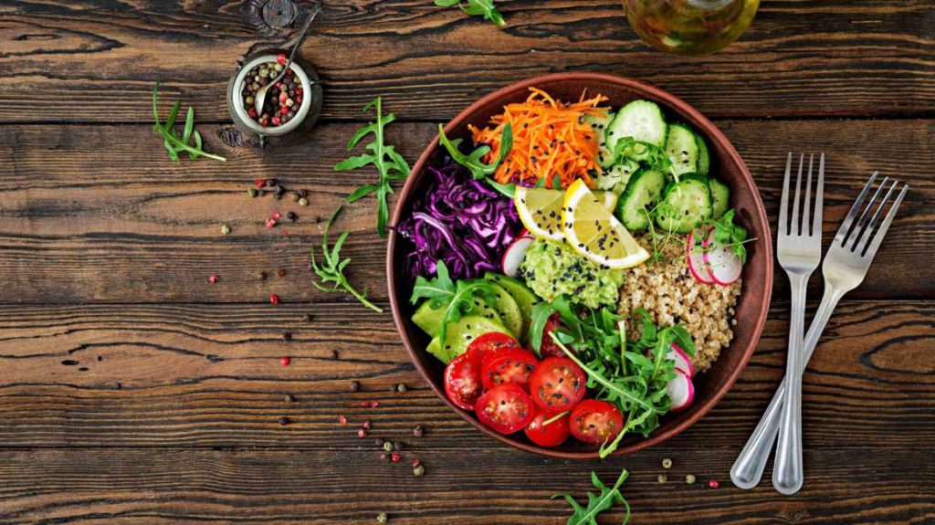 zalety menu dieta warzywna odchudzanie