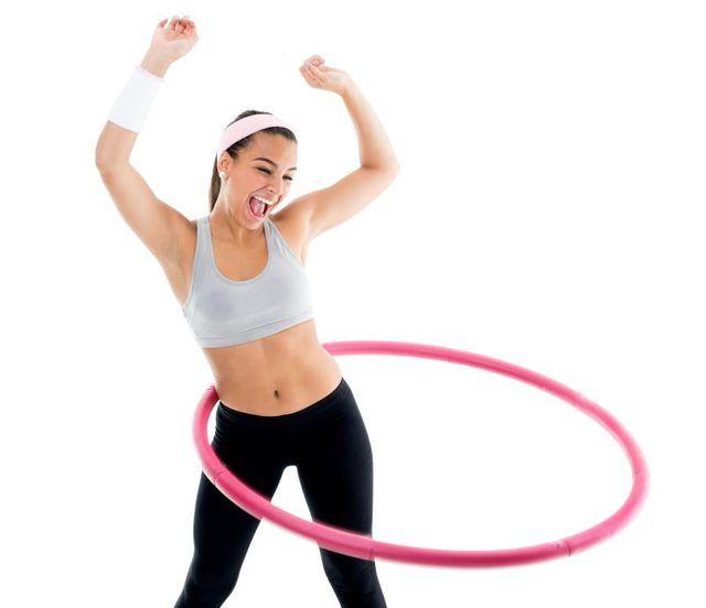 ćwicz na hula hop