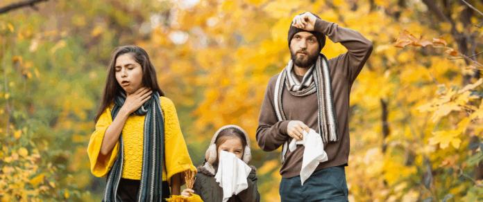 przeziębienie na jesień jak zaradzić